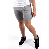 Y Super stretch shorts Grey