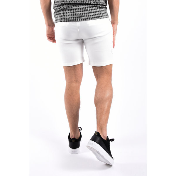 Y Super stretch shorts White