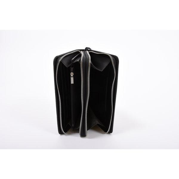 Y Handbag black dubbel