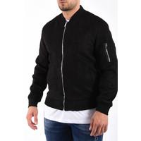 "Y Bomber jacket suede look ""ryan"" Black"