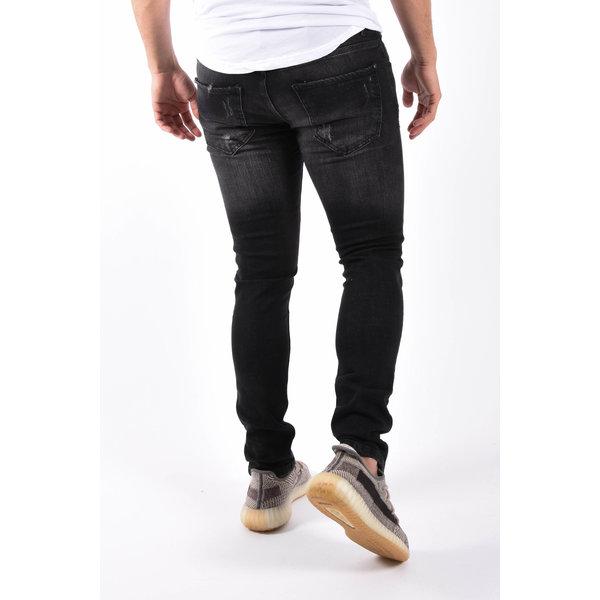 "Y Skinny fit stretch jeans ""canay"" Black"
