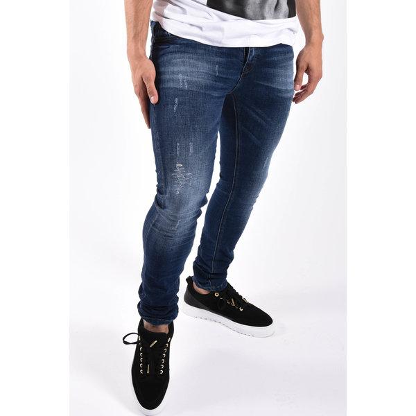 """Y Skinny fit stretch jeans """"colin"""" Dark Blue"""
