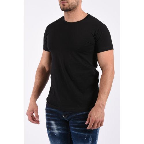 Y T-Shirt basic stretch - Black