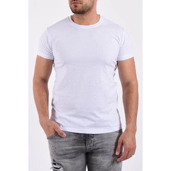 Y T-Shirt basic stretch - White