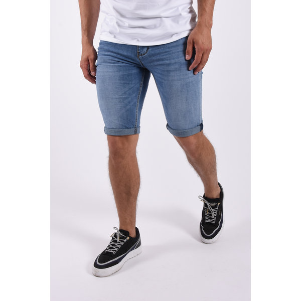 """Y Jeans stretch shorts """"quincy"""" Blue"""