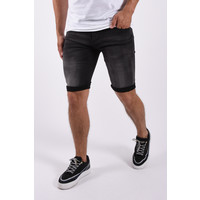 """Y Jeans stretch shorts """"quincy"""" Black"""