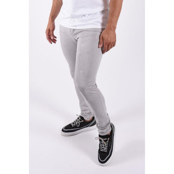 "Y Skinny fit stretch jeans ""Martin"" Light Grey"