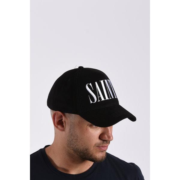 Y Cap Saints Black