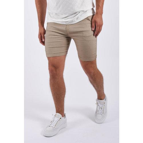 Y Super stretch shorts Beige