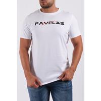 """Y T-Shirt """"favelas"""" White"""