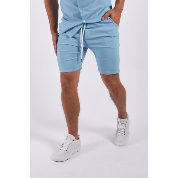 Y Summer stretch shorts Light Blue