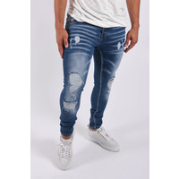 Y Skinny fit stretch jeans Blue destroyed