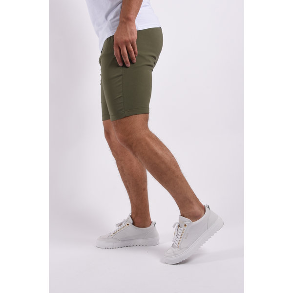 """Y Summer """"cem"""" stretch shorts Green"""