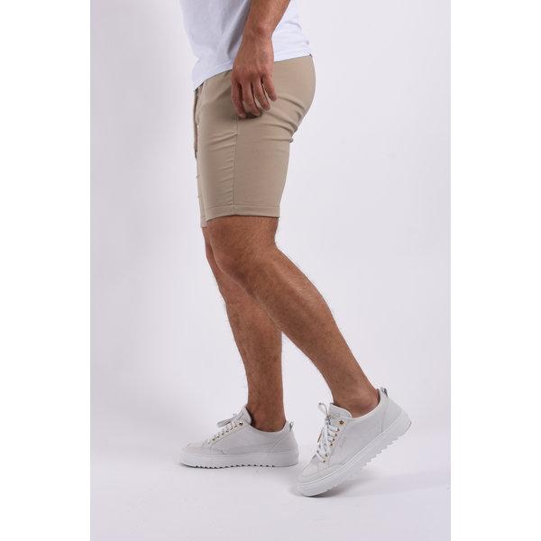 """Y Summer """"cem"""" stretch shorts Beige"""