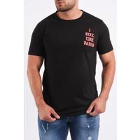 """Y T-Shirt """"i feel like pablo"""" Black"""