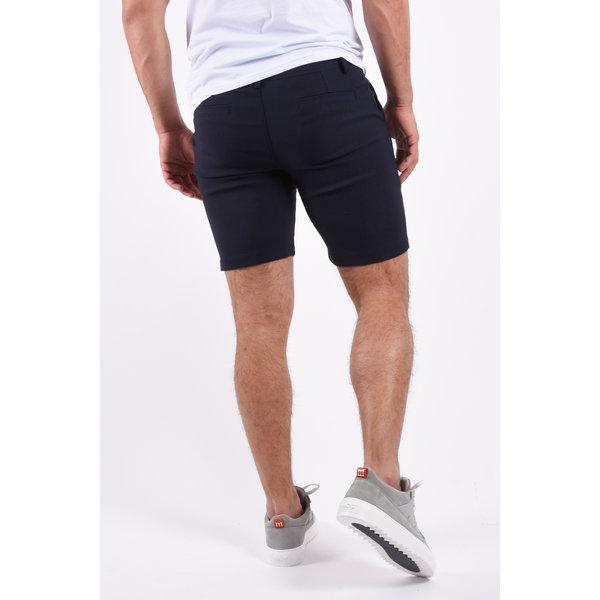 Y FR Super stretch shorts 1739 Navy Blue