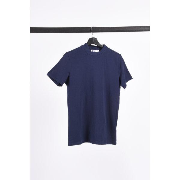 """Y FR T-shirt high neck """"rick"""" Dark Blue"""