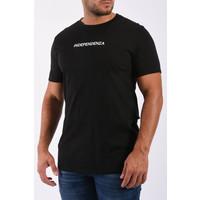 "Y T-Shirt ""independenza"" Black"
