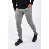 Y Stretch pantalon checkered Grey