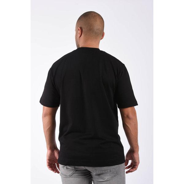 "Y T-shirt loose fit basic ""ado"" Black"