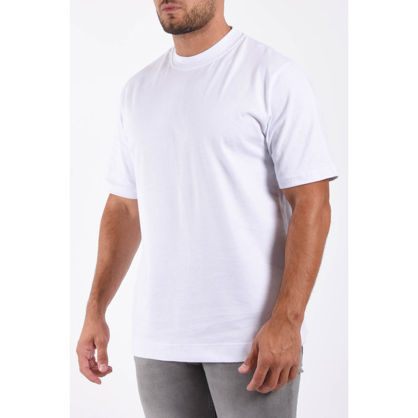 """Y T-shirt loose fit basic """"ado"""" White"""