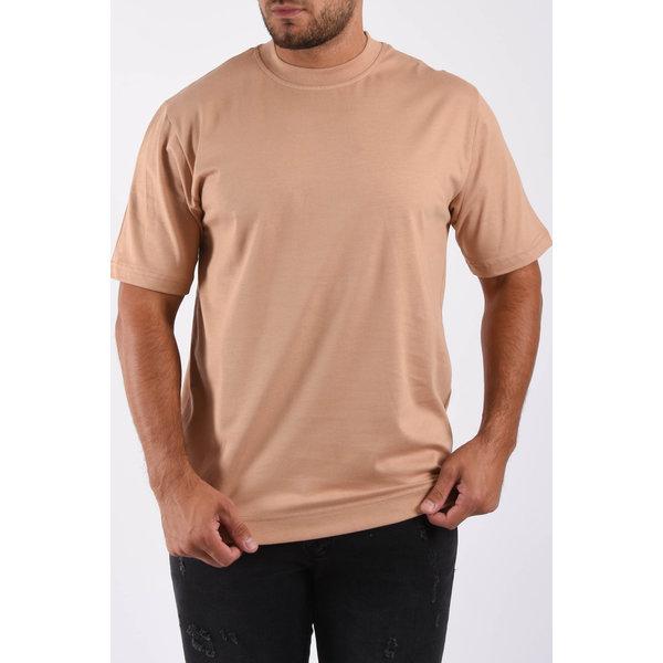 "Y T-shirt loose fit basic ""ado"" Beige"