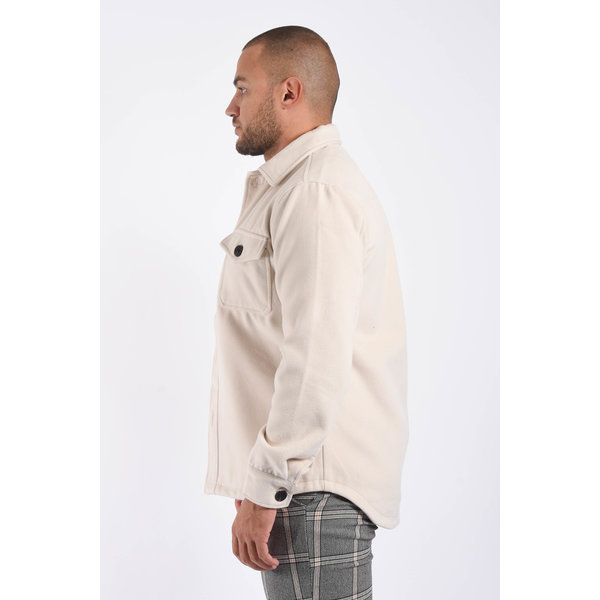 "Y Jacket / Overshirt ""marino"" Light Beige"