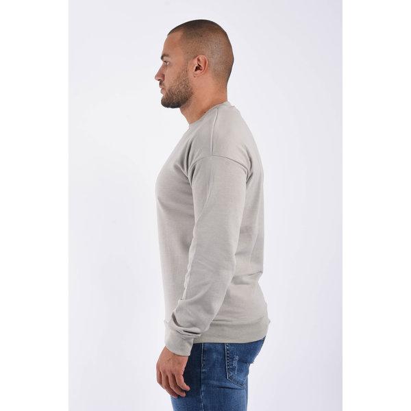 """Y Sweater crewneck """"ronny"""" Grey"""