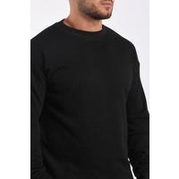"Y Sweater crewneck ""ronny"" Black"