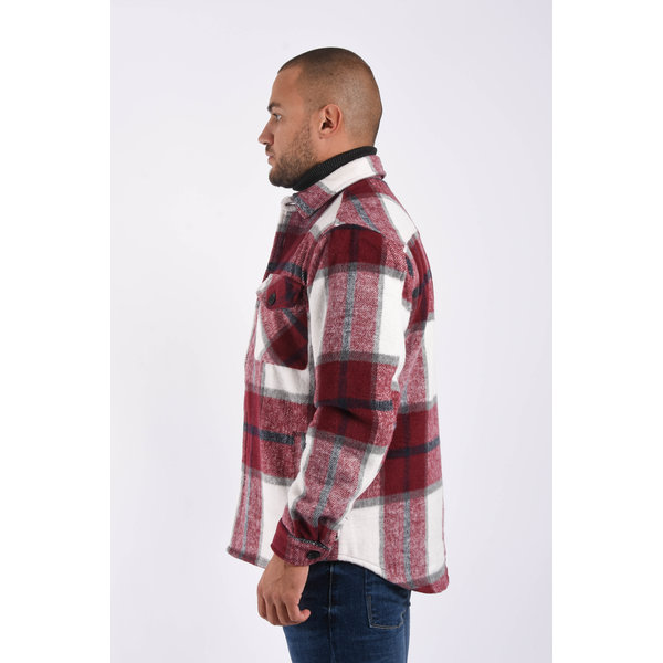 Y Flannel jacket Red