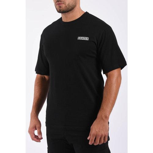 "Y T-shirt ""fighter"" Black"