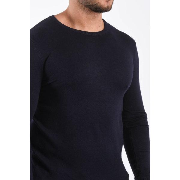 Y Knitwear pullover crewneck Dark Blue