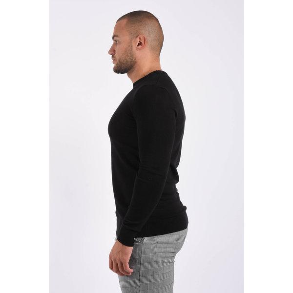 Y Knitwear pullover crewneck Black
