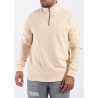 Y Sweater half zipped Beige