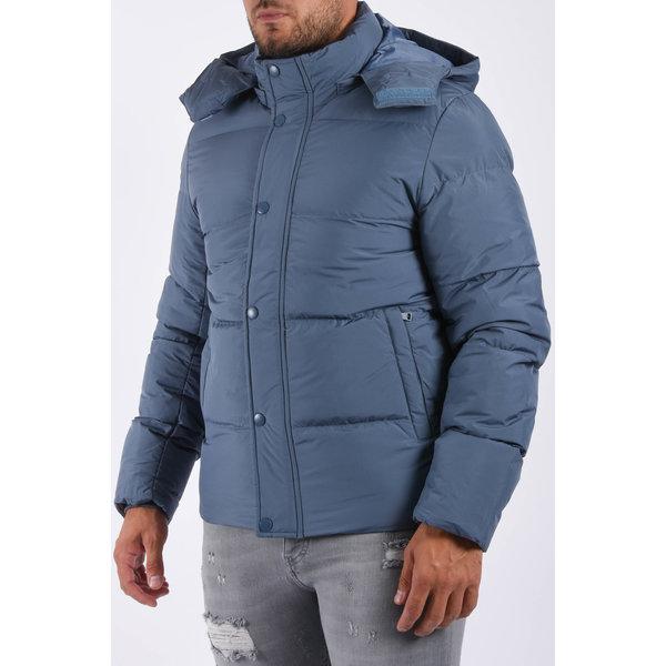 "Y Puffer jacket ""james"" Blue"
