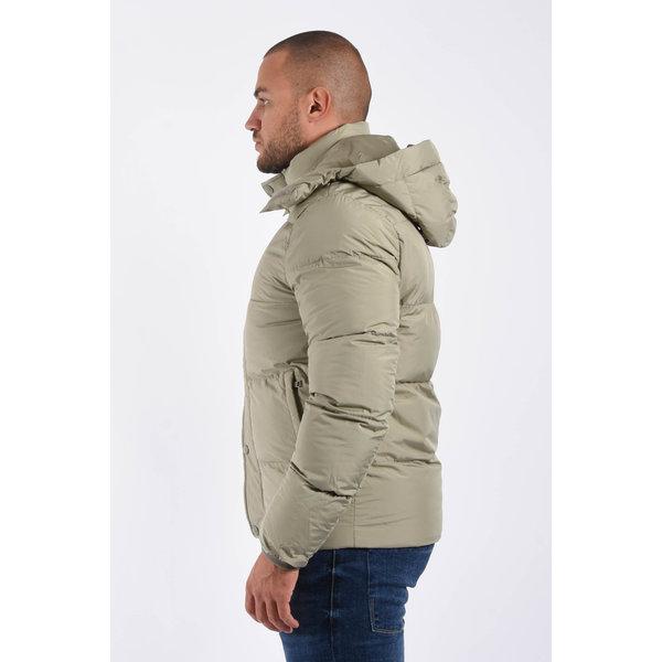 "Y Puffer jacket  ""james"" Beige / Grey"