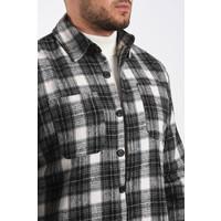 """Y Flannel shirt """"bobby"""" Black"""