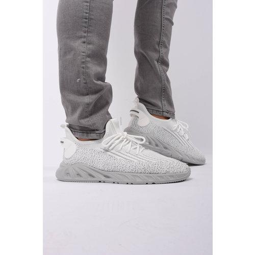 Y Sneaker mesh runners White