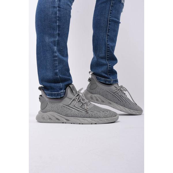 Y Sneaker mesh runners Grey