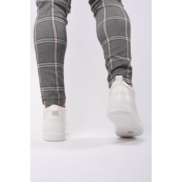 Y Sneaker Mid-Top White