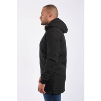 Y Softshell jacket long Black