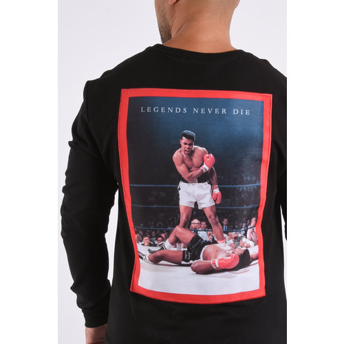 """Y Sweater """"the greatest"""" Black"""
