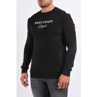 "Y Sweater ""makaveli"" Black"