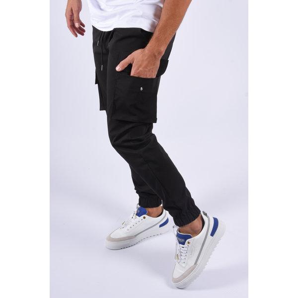 """Y Cargo pants """"rocky""""  Black"""