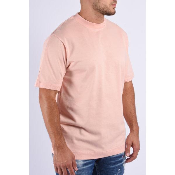 """Y T-shirt loose fit basic """"ado"""" Pink"""