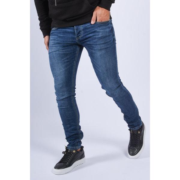 """Y Skinny fit stretch jeans """"colin"""" basic dark blue"""