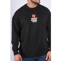 """Y Sweater """"kings of rap"""" Black"""