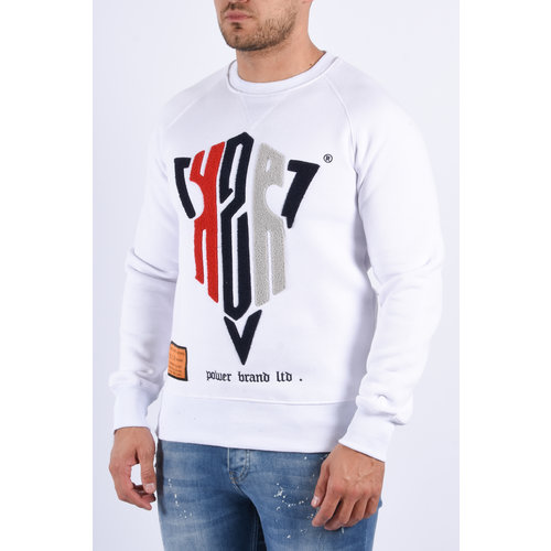 "Y Sweater ""kzr"" White"