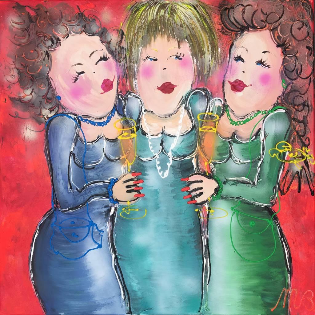 FEELGOOD schilderijen & producten Schilderij 'Annie....'