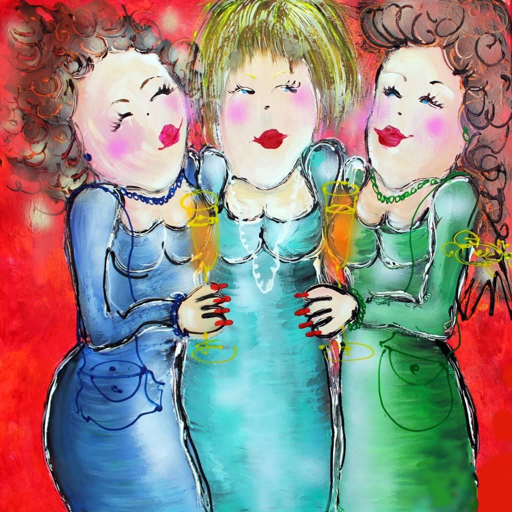 FEELGOOD schilderijen & producten Kunstdruk 'Annie ...... '